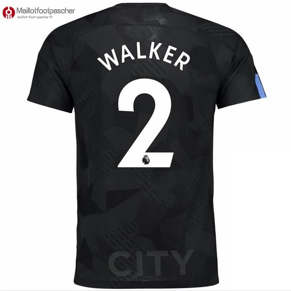 Maillot Foot Pas Cher Manchester City Third Walker 2017/2018
